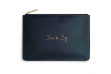 Katie Loxton DREAM BIG Perfect Pouch Clutch Bag - Navy